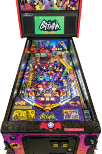 In addition to the fun title and game experience, the machine features a full color high definition display replacing the dot matrix display. In conjunction with Stern's new SPIKE-2 electronic pinball platform, the display enables high definition graphics and innovative animations. This enables the game to feature actual TV footage from the iconic series. The game includes a second high definition display on the playfield as part of an interactive game feature.