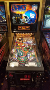 For the true Giants fan, no man cave is complete without the NY Giants pinball machine!