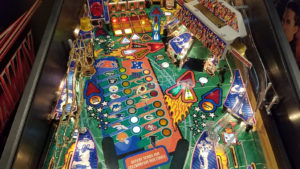 Center playfield detail.