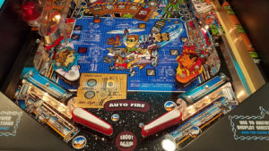 The playfield on this machine came out nothing short of stunning.