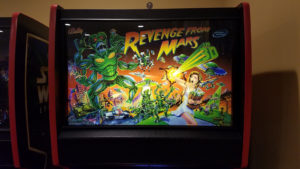 Revenge from Mars was the first of only 2 Pinball 2000 machines made - the other being Star Wars: Episode 1.
