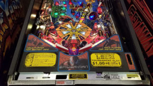 The playfield got a full LED upgrade under the inse.rts