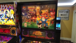 We have had many World Cup Soccer machines, but this may be one of the best we've seen.