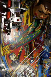 There's not much you can do to make the playfield shine when you have a Mylar situation like this.