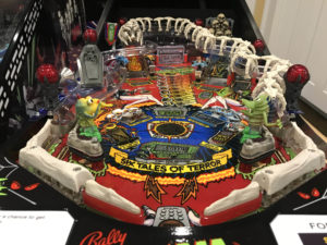 Look at this playfield! This machine came out looking better than new.